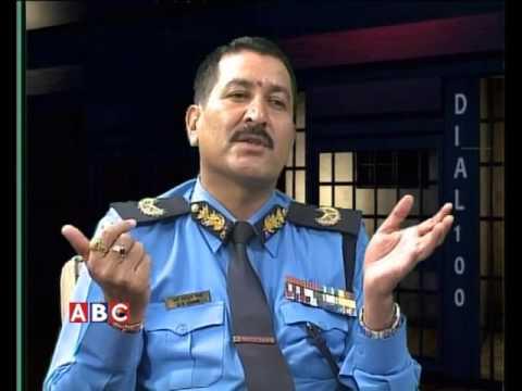 Dail 100 with DIG Jay Bahadur Chand by Danda Gurung ABC Television, Nepal