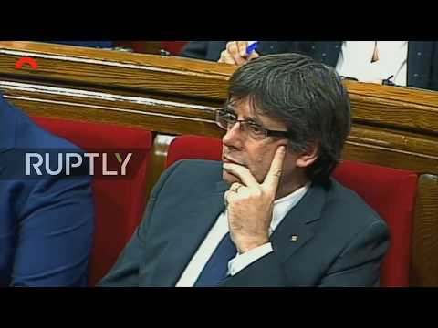 LIVE: Catalan parliament holds plenary session on implementation of Article 155