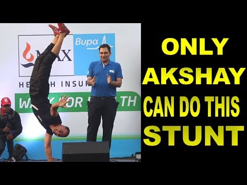 Only Akshay Kumar Can do this STUNT
