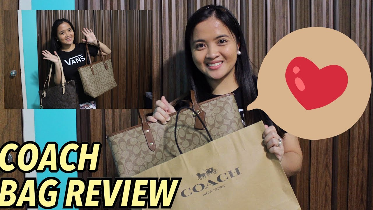 Coach Bag Review + Added Collection   Advance Valentines Gift this 2019 8a5480614ca2d