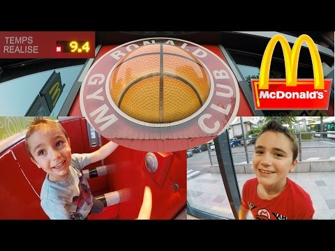 VLOG - Parcours Fun au Ronald Gym Club de McDonald's