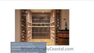 Design & Build Custom Wine Cellars St. Louis Missouri Proj