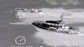 Coast Guard Opening Fire in High-Speed Chase. Intercepts Millions Worth of Weed.