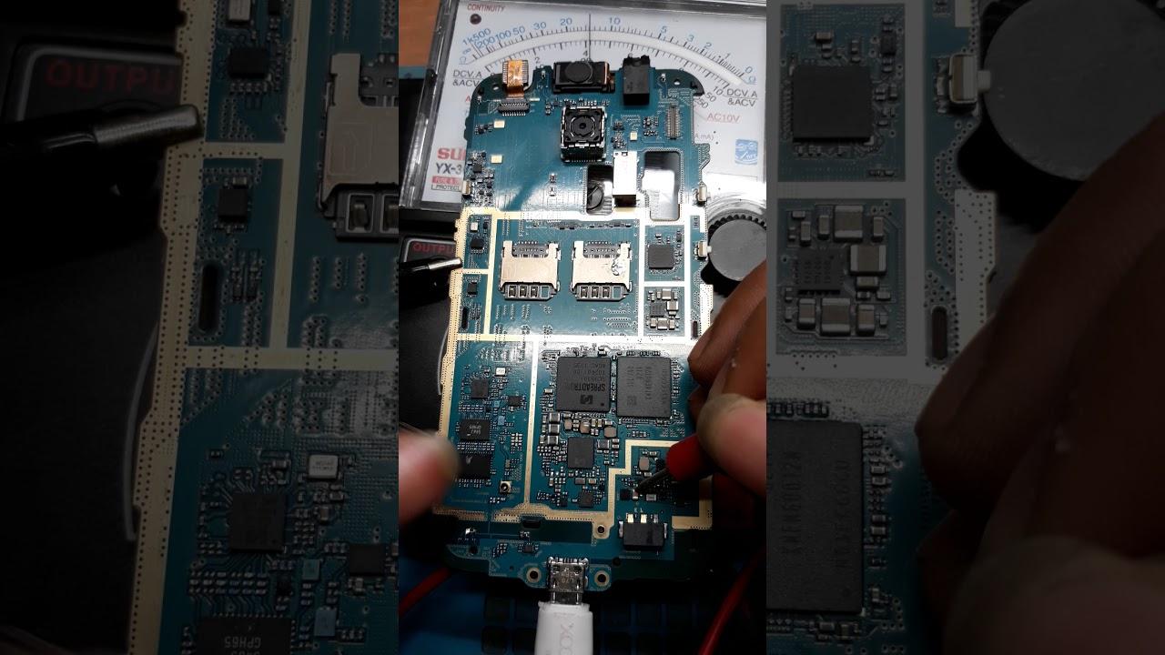 Cara cek teganggan charger samsung j111f/ j ace