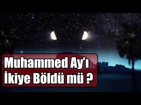 Muhammed Ay'ı İkiye Böldü mü ? / Ay Nasıl İkiye Bölünür !!!!