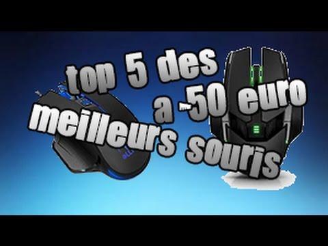 [TOP5] SOURIS GAMER A MOINS DE 50 EURO !