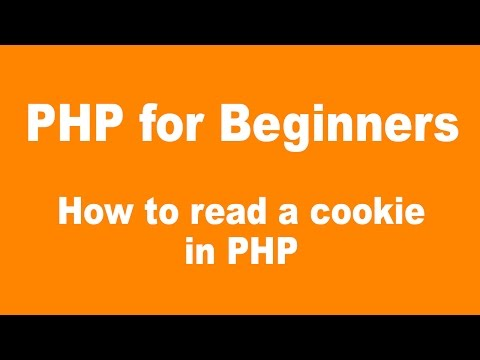 PHP for Beginners: How to read a cookie in PHP
