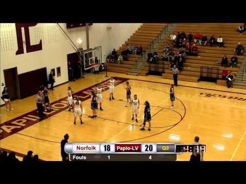 Raw: Girls Basketball v Norfolk (Districts)