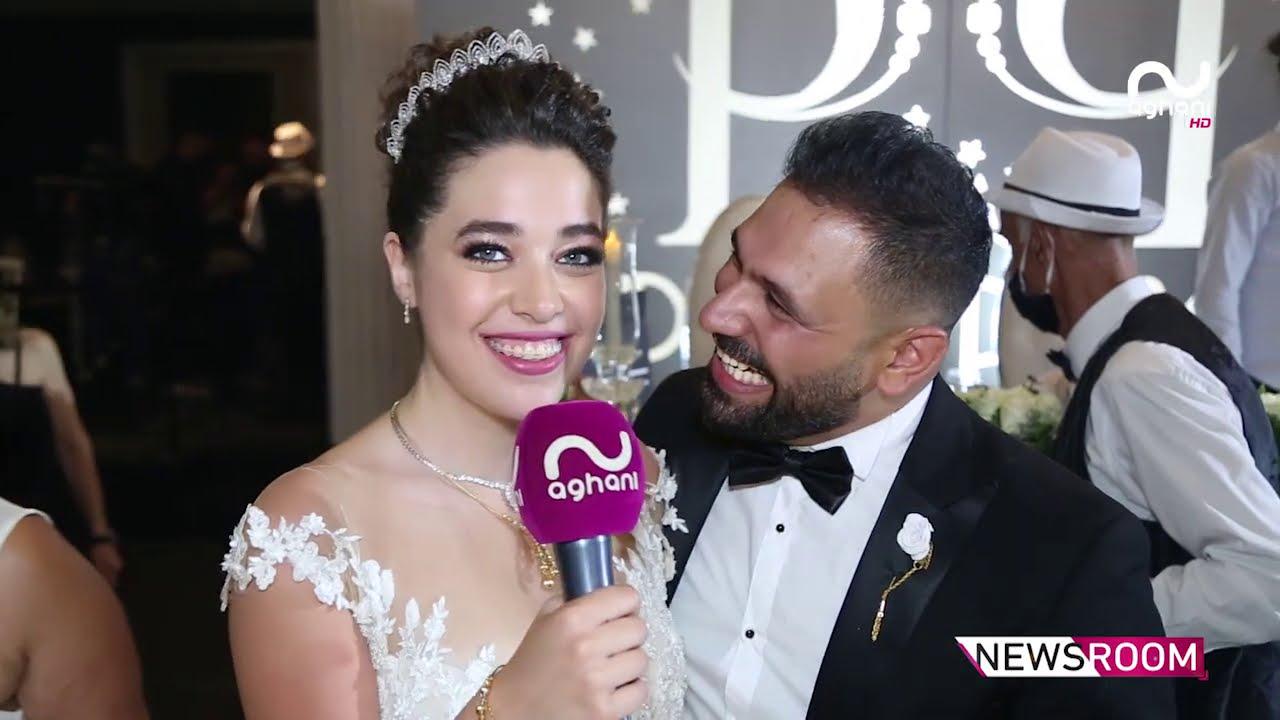 نجل الفنان رضا يقاوم الكورونا ويدخل القفص الذهبي مع عروسه بحضور نجوم الفن والمجتمع!