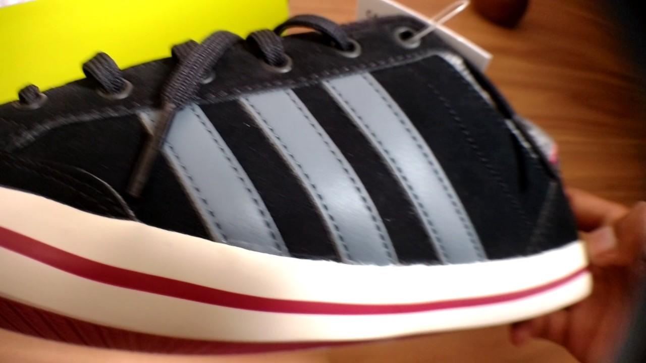 unboxing adidas neo cacity cblack / onix / cburgu youtube