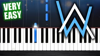 Alan Walker Faded - Piano Tutorial but it 39 s TOO EASY almost everybody can play it.mp3