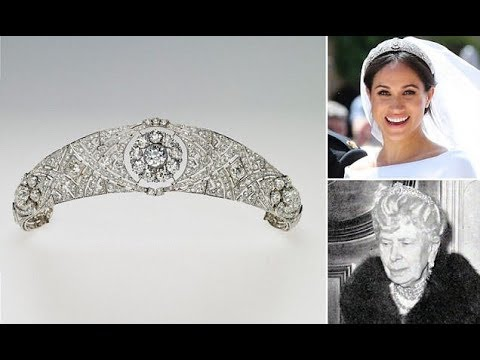Meghan Markle Tiara Wedding: Meghan's Sparkling Tiara Is Queen Mary's Diamond Bandeau