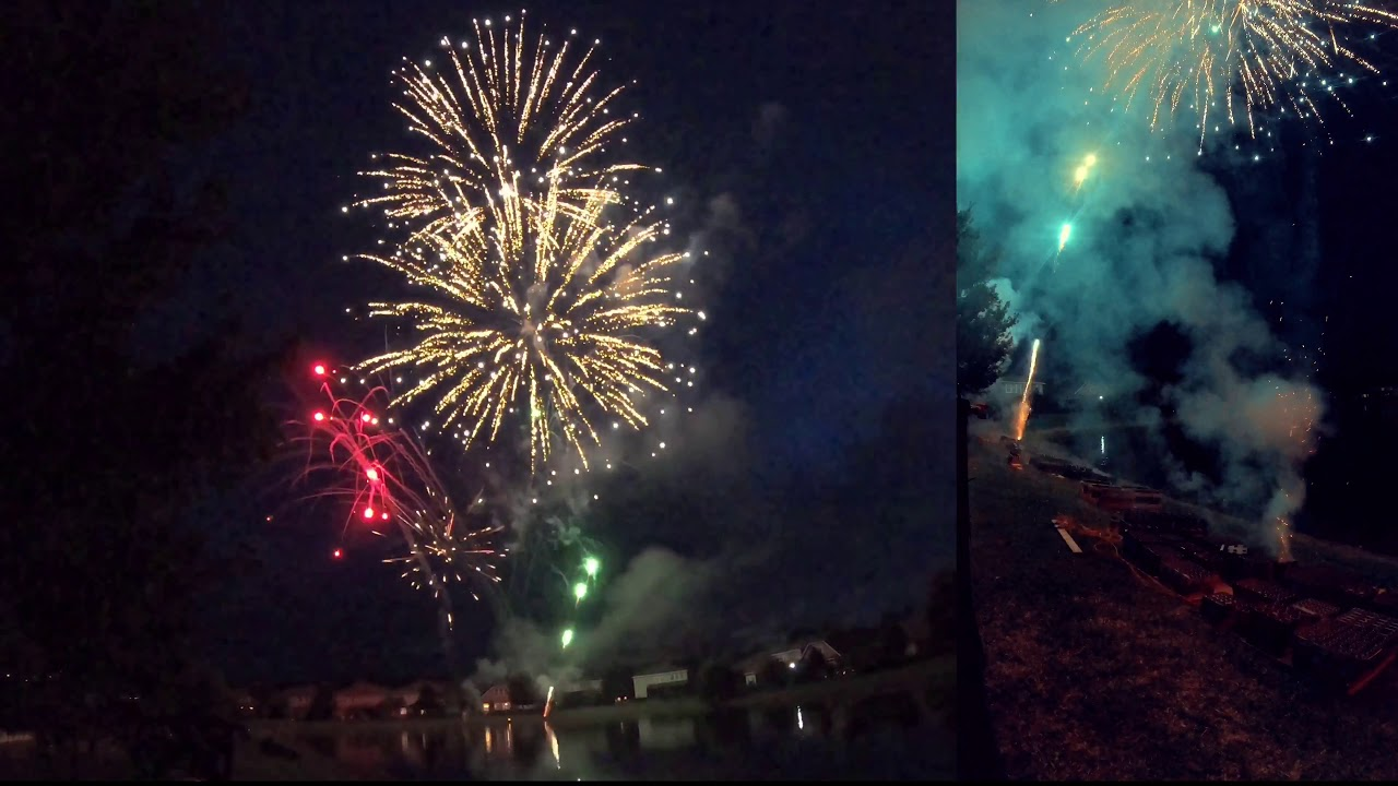 2020 Kelly Pointe Fireworks Display