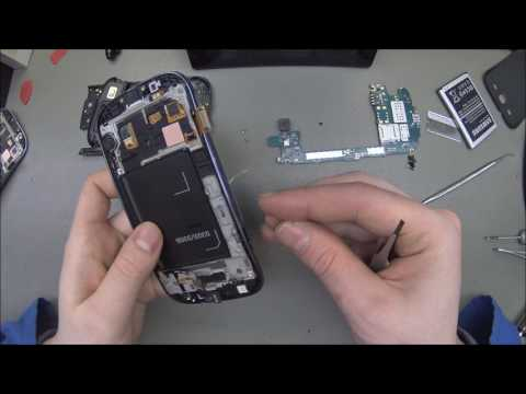 Samsung GT-i9301i Galaxy S3 Neo Disassembly/replace display modul