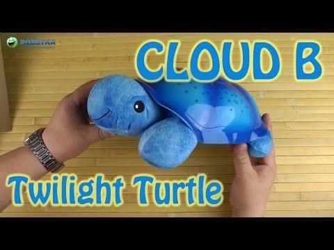 Демонстрация Cloud B Twilight Turtle Blue (7323-BL)