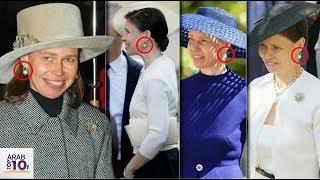 لماذا ترتدي ابنة أخت الملكة، السيدة سارة، نفس الأقراط للأحداث الملكية..!!