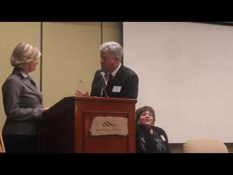 Dana Priest gives 2016 Zenger Award speech