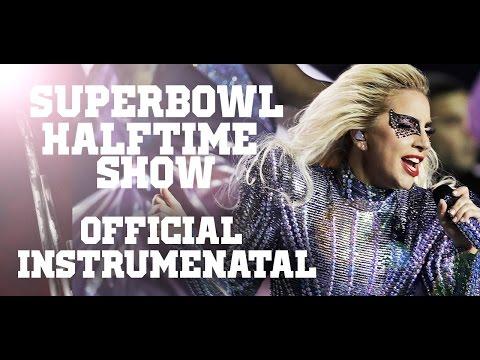 LADY GAGA - SUPERBOWL HALFTIME SHOW (Official Instrumental) - 5.1 SOUND