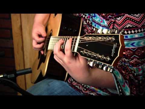 A Tribute to Stevie Ray Vaughan  Life  the Drop  13 year old Grace Constable  Taylor Guitars
