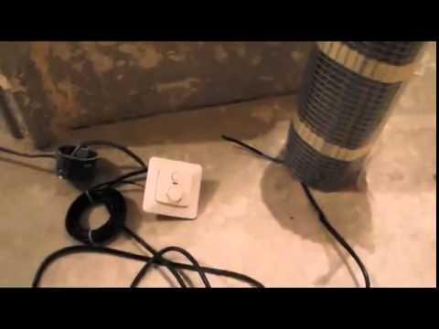 Электрические теплый пол под плитку