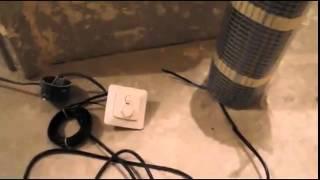 Электрические теплый пол под плитку(, 2014-06-17T07:51:06.000Z)