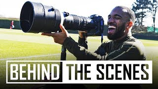 Fun in the sun at Arsenal training centre | Behind the scenes