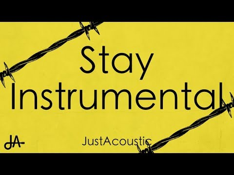 Stay - Post Malone (Acoustic Instrumental) - YouTube