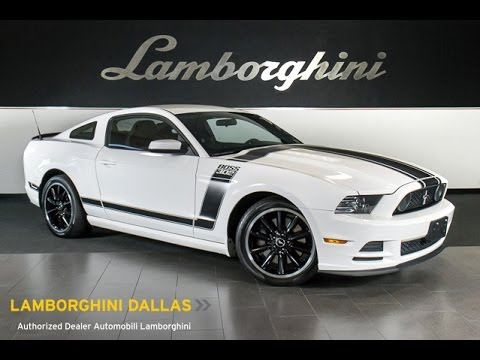 2013 Ford Mustang Gt Boss 302 Performance White Lt0715 Youtube
