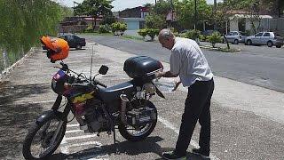 La moto à hydrogène inventée dans un garage brésilien - hi-tech