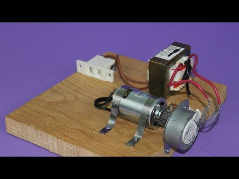 Motor Alternator and Transformer - Electricity Generation