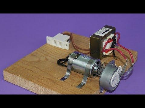 Motor Alternator and Transformer - Electricity Generation