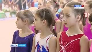 Всероссийские соревнования по спортивной гимнастике в Брянске