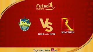 Futsal HDBank 2018: Sanna Khánh Hòa - KT Đà Nẵng