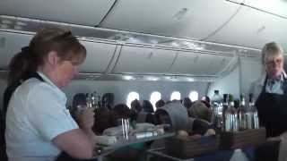 Thomson 787 Dreamliner Premium Club flight