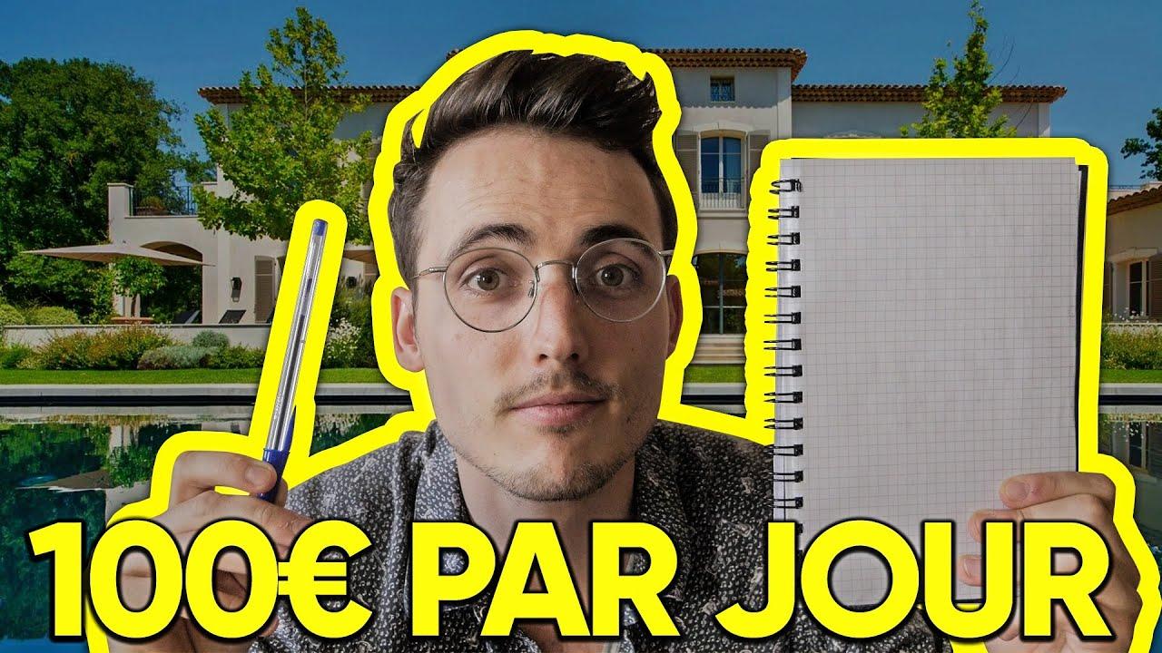 Gagner 100€ Par Jour Avec Simplement Une Feuille et Un Stylo
