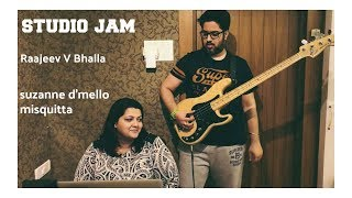 bang bang title song studio jam session with suzanne dmello and raajeev v bhalla