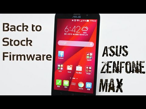 How to go back to stock rom on asus zenfone max ZC550KL/Z010D by trendy and  technical