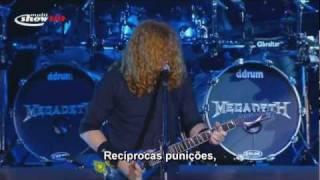 Megadeth - Public Enemy N°1 - Live SWU 2011 - Legendado PTBR 720p HD