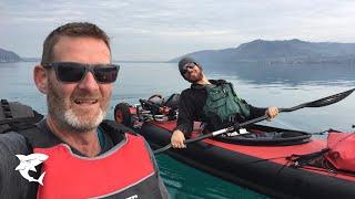 2018 Kanu Tour am Attersee mit Steve Flusswanderer
