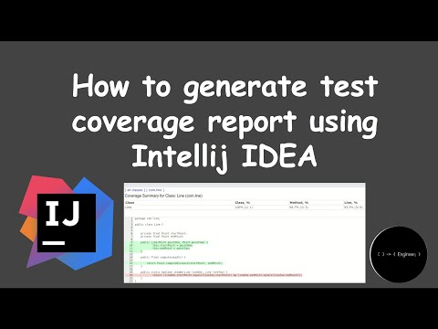 How To Generate Test Coverage Report Using Intellij IDEA | Engineer