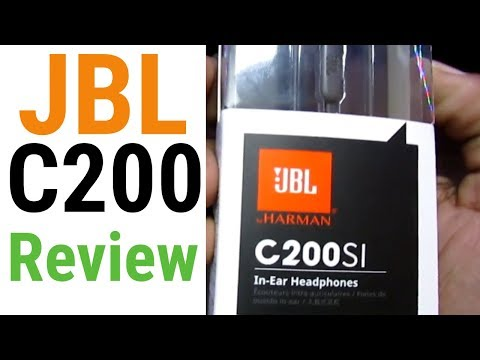 Rocking Earphones - JBL C200SI Rapid Unboxing & Review - Unboxing Wala