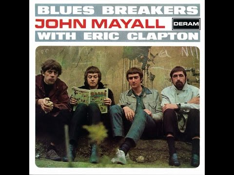 John Mayall & The Bluesbreakers   Blues Breakers With Eric Clapton 1966 (vinyl record)