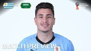 Jose Gimenez (Uruguay) - Match 18 Preview - 2018 FIFA World Cup™