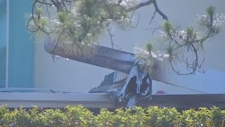 Plane Crashes Into Day Care Center Killing Passenger On Board and Injuring Pilot