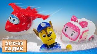 Детский сад Капуки Кануки с игрушками. Игры в МАГАЗИН. Мультики с героями для детей