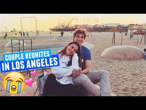 ADELAINE AND MATT REUNITE IN LOS ANGELES