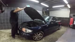 BMW SERIE 1 MOTEUR N47 AVEC BRUIT MOTEUR !