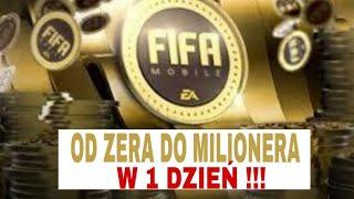 FIFA MOBILE 19 - ZARABIANIE - ZARABIAJ KILKA MILIONÓW CO DZIEŃ Z NICZEGO !!!