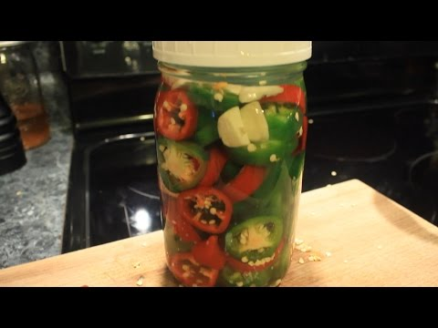 Lacto Fermented Jalapeno Peppers w/Garlic ~ Delicious ~ Easy
