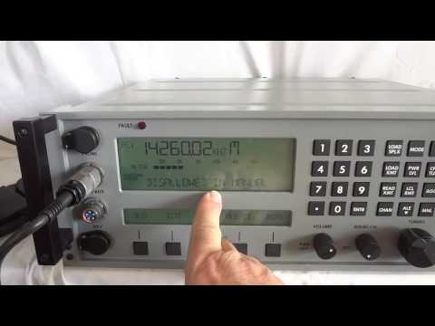 SunAir RT 9000 modern digital military HF SSB transceiver
